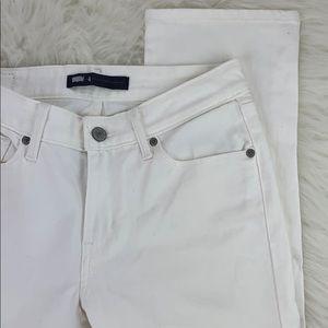Levi's Jeans - Levi's white cropped denim jeans